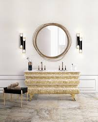 mirror designs renovate your luxury bathroom with these refined wall mirror designs