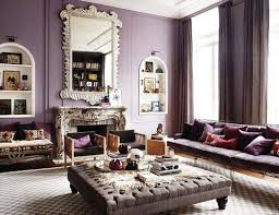 Best Color  Chocolate Brown Plum Lilac Images On Pinterest - Purple living room decorating ideas