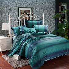 Teal Bed Set Modern And Elegant Bedroom With Dark Teal Bedding Atzine Com
