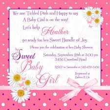 baby shower invite wording baby girl shower invitation wording christmanista