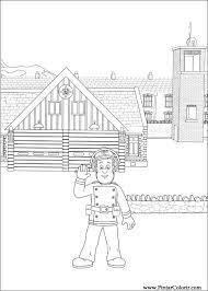 drawings paint u0026 colour fireman sam print design 059