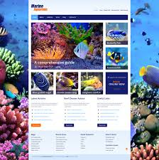 marine aquarium wordpress theme 44842