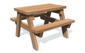 childrens wooden picnic table benches picnic table childrens hexagon plans umbrella diy gcss info