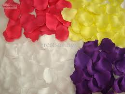 Silk Rose Petals Best High Density Silk Rose Petals Flowers Confetti Wedding Table