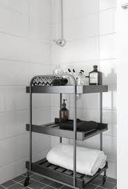 Ikea Bathroom Accessories Ikea Hjälmaren Hylle H O M E Pinterest Organized Bathroom