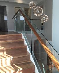 Timber Handrails And Balustrades Coogee Glass Balustrade With Timber Handrail Kiss Glass