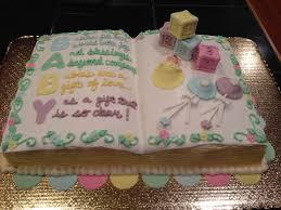 fondant storybook baby shower cake fondant baby shower cakes