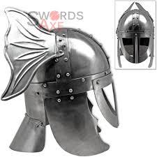 valkyrie norse helmet viking mythology goddess functional carbon steel armor 1 jpg