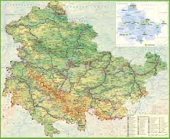 Weimar Germany Map by