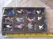 spun glass ornaments ebay