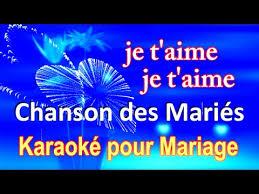 chanson mariage chanson des mariés chanson de mariage