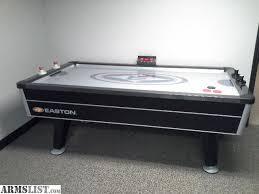 air hockey table reviews armslist for sale easton air hockey table