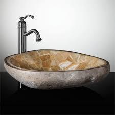 stone vessel bathroom sink home design image wonderful on stone
