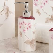 bathroom accessories by croscill christina cherry blossom