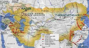 map of kazan kazan legendary city of genghis khan s golden horde ramdas
