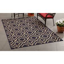 Rv Rugs Walmart by Mainstays Outdoor Indoor Fretwork Rug Walmart Com