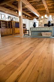 Floor Hand by Longleaf Lumber Antique Oak Flooring