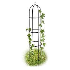 Obelisk Trellis Metal Amazon Com Climbing Plant Support Garden Trellis Plant Support