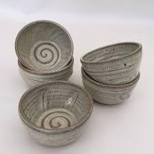 amazon com handmade pottery shaving bowl in natural color for men
