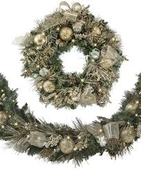 30 inch gold silver splendor wreath tree classics