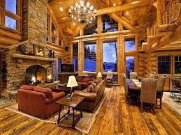 Interior Log Home Pictures by Viewing Log Cabins Like These Will Put Hair On Your Chest 36
