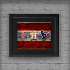 Houston Texans Flags Houston Texans Sports Poster Houston Texans Houston Astros
