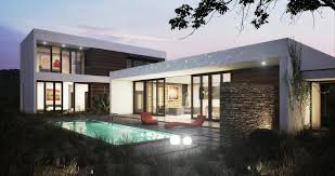 modern home plan type of house modern house plans