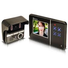 Front Door Monitor Camera by Front Door Video Intercom