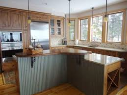 wood kitchen countertop diy linoleum wood floor white kitchen
