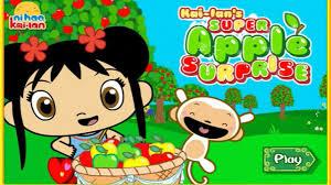 ni hao kai lan game video kai lan u0027s super apple surprise episode