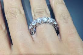 eternity ring finger what exactly is an eternity ring okg jewelry