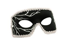 men masquerade mask black lightning men s masquerade mask a 1131b e