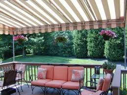 Retractable Awning For Deck Are Residential Awnings Good Deck Coverings Carroll Awning