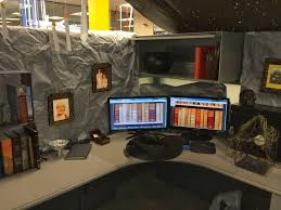Cubicle Decoration Themes Cubicle Decor Office Ideas Brilliant Idea Of For Image Best Idolza