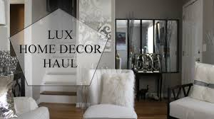 lux decor haul home goods marshals u0026 ross youtube
