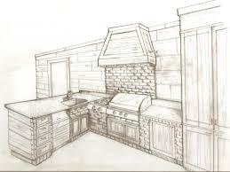 kitchen design sketch kitchen design sketch interior design