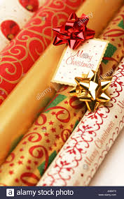 christmas gift wrap rolls rolls of festive seasonal christmas gift present wrapping