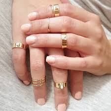 midi ring set mini gold midi ring set of four by staxx