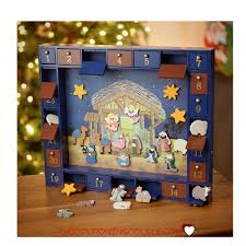 kurt adler nativity advent calendar only 77 04 shipped