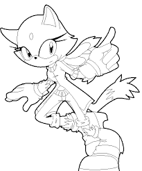 blaze cat coloring pages getcoloringpages