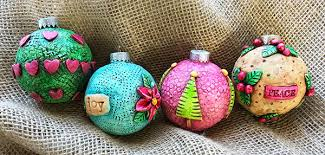 make these polymer clay ornaments cloth paper scissors