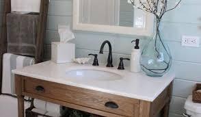 Open Shelf Bathroom Vanity Brilliant Mission Style Open Shelf Bathroom Vanity Of