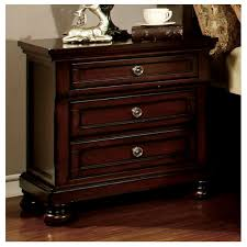 furniture of america bedroom set northville dark cherry finish