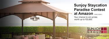 Amazon Com Patio Furniture Sets - patio amazon com patio furniture cool brown rectangle rustic