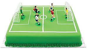 tennis cake toppers pme fs009 football soccer cake topper set of 9