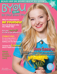 dove cameron shines in byou magazine be yourself issue