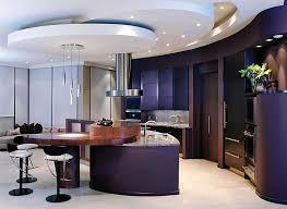 kitchen design luxury kitchen design with false ceiling recessed