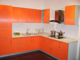 Orange And White Kitchen Ideas Orange Kitchen Cabinets Frequent Flyer