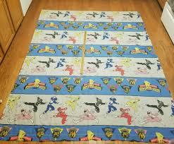 1994 power rangers saban sheet flat beds textiles and flats