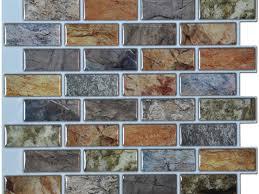 interior stunning peel and stick tile backsplash subway tile